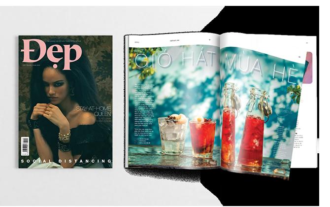 Tạp chí Đẹp số tháng 4