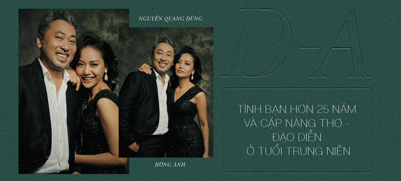 Nguyễn Quang Dũng - Hồng Ánh: Tình bạn hơn 25 năm của cặp nàng thơ - đạo diễn ở tuổi trung niên