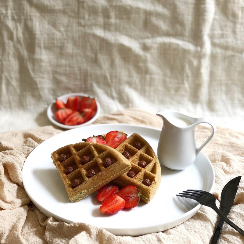 banh waffle yen mach - 1