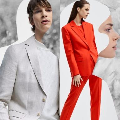 """BOSS ra mắt dòng sản phẩm suit """"thuần chay"""" cho nam, giới thiệu dòng sản phẩm Traceable Wool cho nữ"""