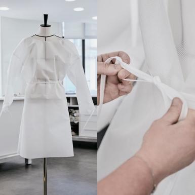 Louis Vuitton mở cửa nhà xưởng đồ ready-to-wear sản xuất trang phục bảo hộ cho y bác sĩ ở Paris