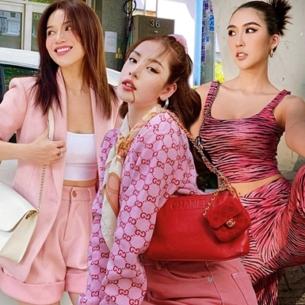 """Dàn sao Việt """"bung xòe"""" váy áo sau khi hết cách ly xã hội"""