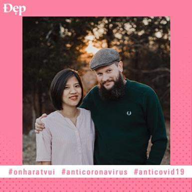 """#Onharatvui: Nhà văn Iris Cao hé lộ chuỗi ngày """"hạnh phúc nở hoa"""" dù sống gần tâm dịch tại Mỹ"""