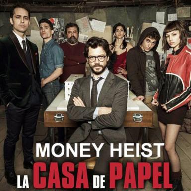 """Dàn diễn viên thực lực tạo nên siêu phẩm """"Money Heist"""" là những ai?"""