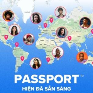 """Vi vu """"check-in"""" kết bạn khắp nơi với tính năng Passport của Tinder"""