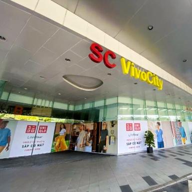 UNIQLO sẵn sàng chuẩn bị khai trương cửa hàng thứ ba ở Việt Nam tại Tp.HCM