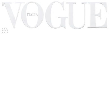 Vogue Italia gây chấn động với bìa báo trắng trơn cùng thông điệp ý nghĩa