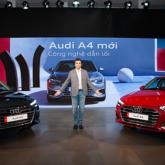 Audi Việt Nam ra mắt đồng loạt 3 mẫu xe A4, Q3 và Q7 mới