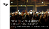 """""""HÒA NHẠC MARATHON TRỰC TUYẾN HỒI SINH"""" – GÂY QUỸ HỖ TRỢ NGƯỜI YẾU THẾ HẬU COVID-19"""