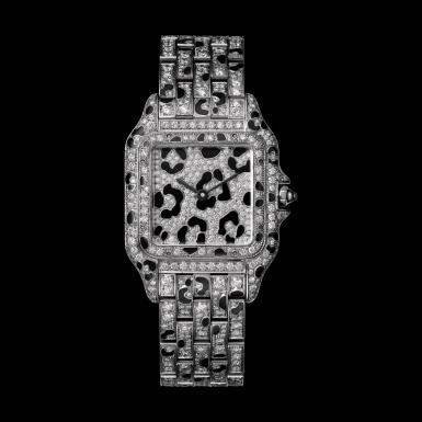 Đồng hồ Panthère de Cartier phiên bản giới hạn đã đến Việt Nam