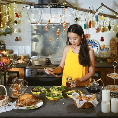 """Cùng Lifestyle & Food Blogger Lê Ngọc """"Nhà có hai người"""" """"phá vỡ"""" lời nguyền hôm nay ăn gì"""