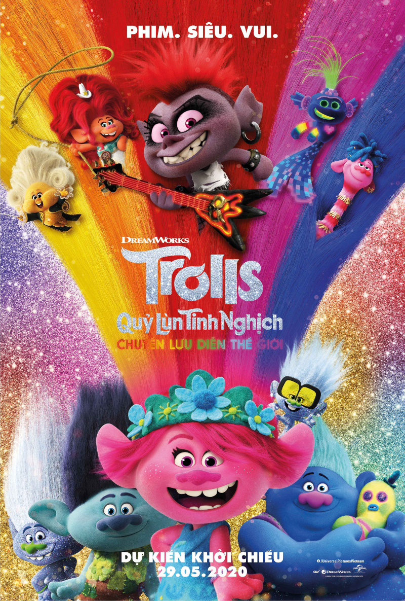 phim hoat hinh trolls world tour - 1