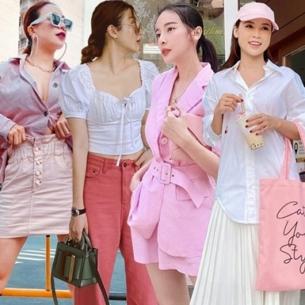"""""""Tan chảy"""" trước street style nữ tính, ngọt ngào của dàn sao Việt tuần qua"""