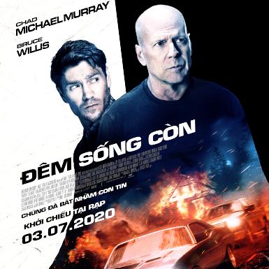 Nam diễn viên U70 Bruce Willis trở lại với dự án phim hành động gây cấn mới