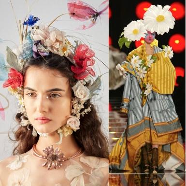 Choáng ngợp với những chiếc mũ couture đỉnh cao của Dior suốt hơn 70 năm
