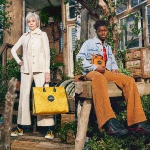 """""""Cụ bà"""" 83 tuổi Jane Fonda khí chất ngời ngời trong chiến dịch mới của Gucci"""