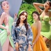 Muôn sắc váy đầm tràn ngập street style của mỹ nhân Việt ngày nắng