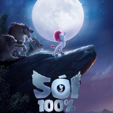 """""""Sói 100%"""": Hành trình trưởng thành của chú sói con trong hình hài chó Poodle"""