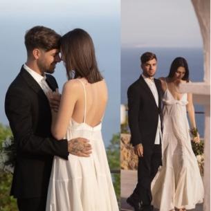 """""""Lịm tim"""" với ảnh đám cưới bí mật vô cùng giản dị của chân dài Vittoria Ceretti"""