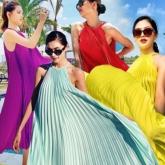 """Sao Việt đua nhau diện đầm cổ yếm, """"hot hit"""" được lăng xê bậc nhất mùa hè"""