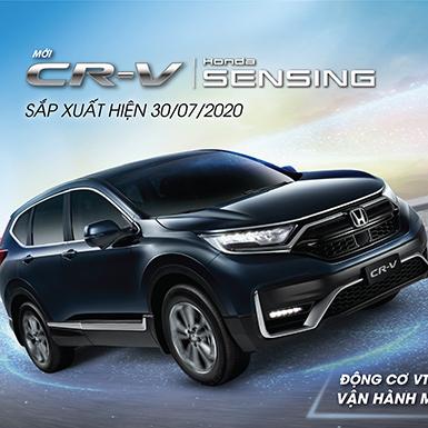 Honda Việt Nam chuẩn bị trình làng CR-V 2020 mới lắp ráp trong nước