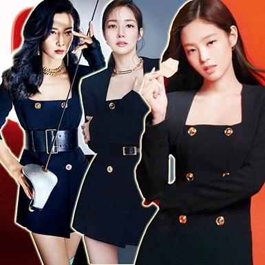 """Jennie (BLACKPINK) """"đụng hàng"""" chị đẹp Park Min Young và loạt sao Hoa Ngữ"""