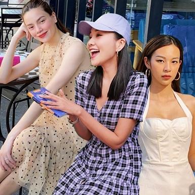 """Thanh Hằng, Hồ Ngọc Hà """"đọ"""" street style nữ tính cùng dàn mỹ nhân Việt"""