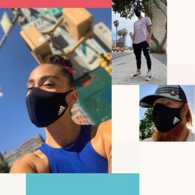 adidas khiến giới mộ điệu thời trang đường phố phát sốt với chiếc khẩu trang FACE COVER chất ngất