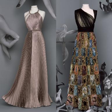 BST Christian Dior Haute Couture Thu Đông 2020: Ngôn ngữ thời trang được viết nên bởi các nàng thơ siêu thực