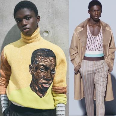 BST Dior Men Xuân Hè 2021 – Bức chân dung của một nghệ sĩ