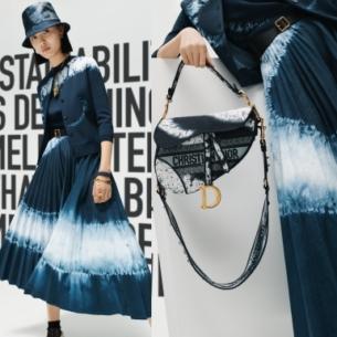 Vũ điệu Thu 2020 thêm quyến rũ với những họa tiết Tie-Dye của Dior
