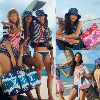 Kỳ nghỉ hè đáng nhớ với BST LV Escale của Louis Vuitton