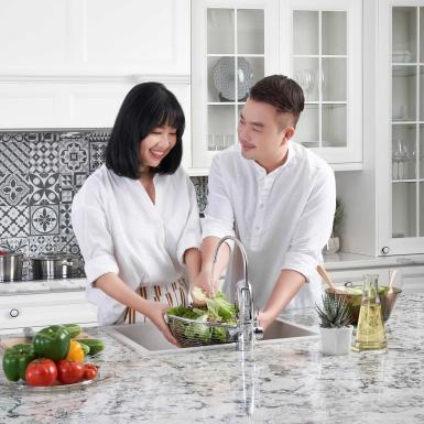 Bếp – không gian gắn kết của gia đình