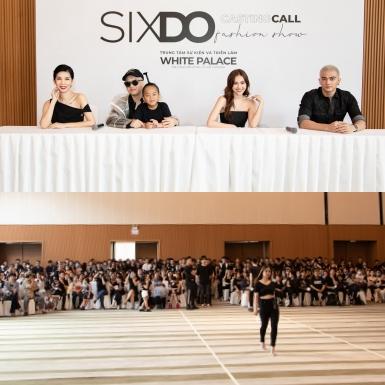 Hàng nghìn người mẫu không chuyên tìm cơ hội xuất hiện trong show diễn SIXDO của NTK Đỗ Mạnh Cường