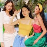 """Crop top đổ bộ """"sàn diễn"""" street style, giúp sao Việt khoe eo thon dáng gọn"""