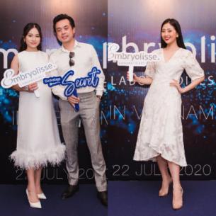 Hàng loạt Celeb đình đám quy tụ tại sự kiện ra mắt thương hiệu Embryolisse tại Việt Nam
