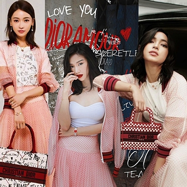"""Châu Bùi bất ngờ lãng mạn, """"đụng hàng"""" cả set Dior với Quỳnh Anh Shyn, Ngô Cẩn Ngôn"""