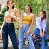 Ngắm street style sao Việt học cách phối quần jeans thời thượng
