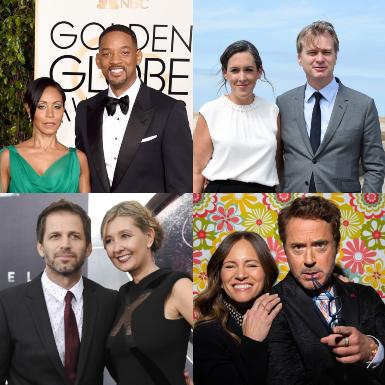 Những đôi vợ chồng quyền lực bậc nhất Hollywood