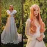 Cặp đôi Cara – NoWay hóa thân thành cô dâu chú rể trong các thiết kế của Chung Thanh Phong