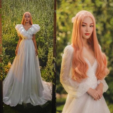 """Hậu hoãn show vì Covid-19, NTK Chung Thanh Phong hé lộ BST """"Dear My Princess"""" với bộ hình mãn nhãn"""