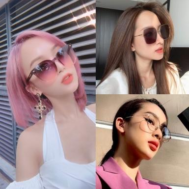 """""""Chị chị em em"""" hot girl Việt cùng đăng hình tạo dáng với kính mắt Bolon Eyewear"""