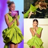 """Nicole Richie diện chiếc đầm """"vạn người mê"""" của NTK Nguyễn Công Trí, """"đụng hàng"""" các mỹ nhân Việt"""