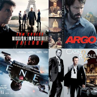 Top 5 tựa phim điệp viên không thể bỏ qua của Hollywood