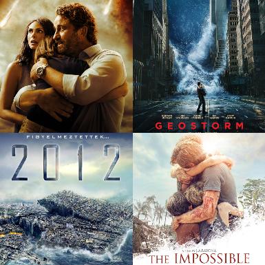 Những tựa phim về thảm họa thiên nhiên ghi điểm nhờ kỹ xảo hoành tráng