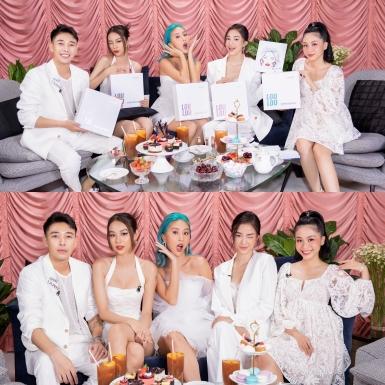 Quỳnh Anh Shyn quây quần cùng hội bạn thân trong buổi ra mắt sản phẩm mới