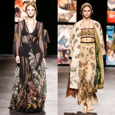 BST Dior Xuân Hè 2021: Góc nhìn cuộc sống được thể hiện qua lăng kính thời trang của Maria Grazia Chiuri – nữ giám đốc sáng tạo đầu tiên của Dior