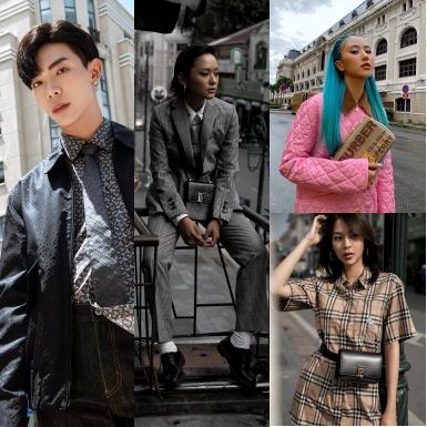 Dec.ao, Erik, Quỳnh Anh Shyn, Hồ Thu Anh & Phí Phương Anh khoe cá tính thời thượng với những thiết kế mới của Burberry