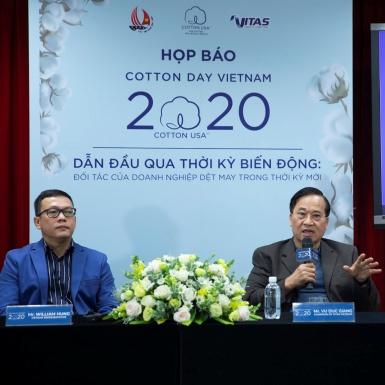 Tham gia hội thảo trực tuyến chuyên ngành bông lớn nhất Cotton Day Vietnam 2020 gặp gỡ các diễn giả hàng đầu