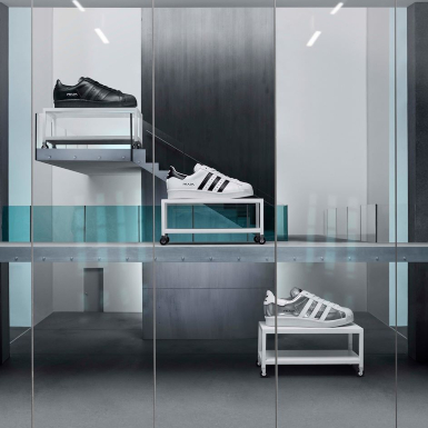 Mê mẩn trước vẻ đẹp cổ điển và năng động của mẫu giày collab Prada x adidas Superstar